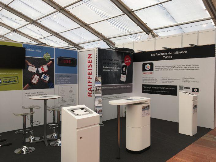 Espace Montage, création de stands d'exposition